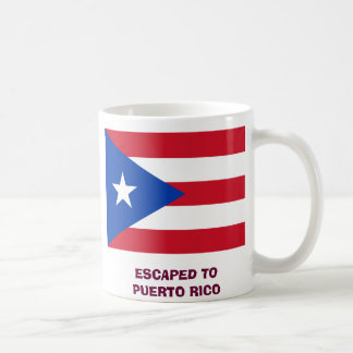 ESCAPED TO PUERTO RICO COFFEE MUG