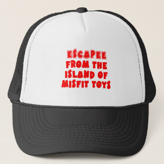 Escapee from the Island of Misfit Toys Trucker Hat