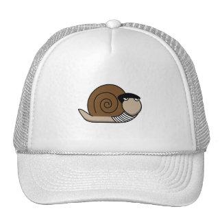 Escargot - French Snail Trucker Hat
