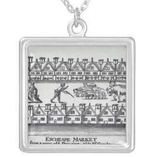 Escheape Market Silver Plated Necklace