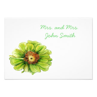 Escort cards garden wedding