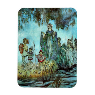 "Escorting The Fairy Queen 3""x4"" Photo Magnet"