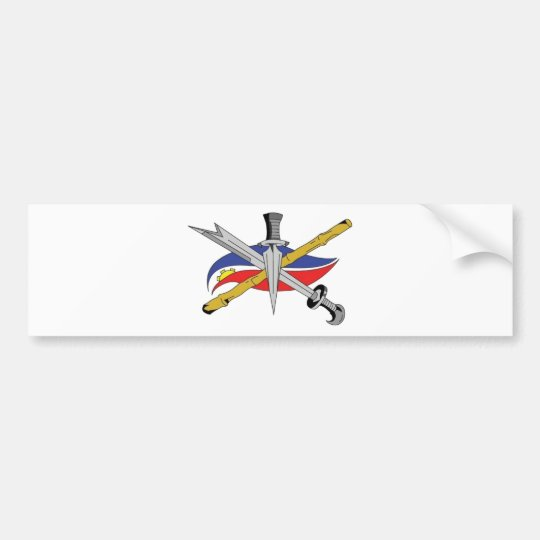 escrima-logo-transparent bumper sticker