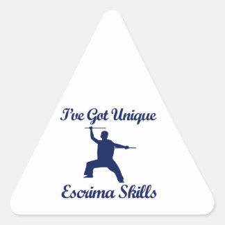 Escrima martial art designs sticker