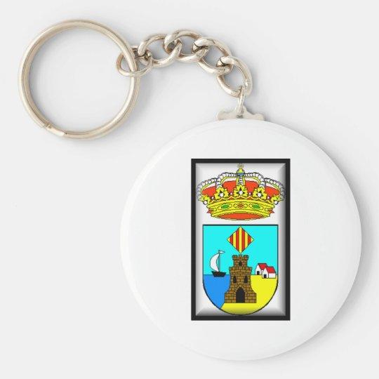 Escudo de Torrevieja Spain Flag Key Ring