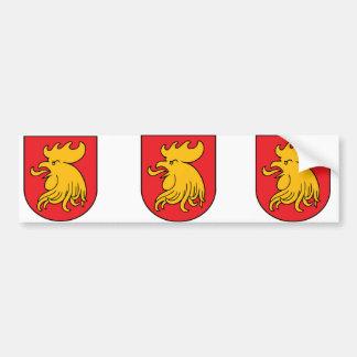 Escut Madonas, Latvia Bumper Sticker