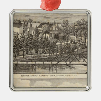 Esden, Clary residences Christmas Ornament