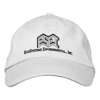 ESEI Black Letters Embroidered Hats