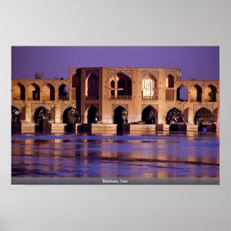 Esfahan, Iran Poster