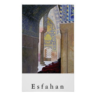Esfahan Poster