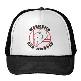 Eskie Agility Weekend Bar Hopper Hat