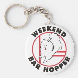 Eskie Agility Weekend Bar Hopper Key Chain
