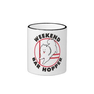 Eskie Agility Weekend Bar Hopper Mugs