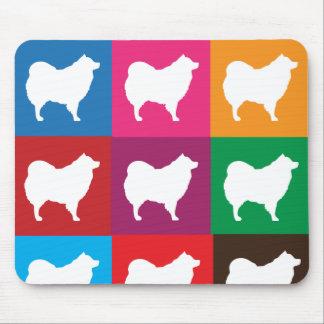 Eskie Colored Blocks Mousepad