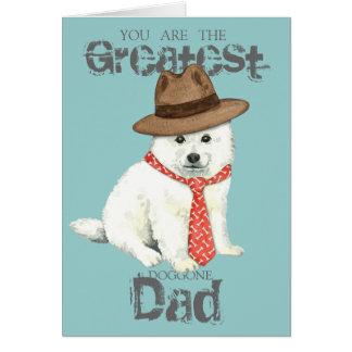 Eskie Dad Card