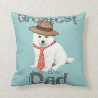Eskie Dad Cushion