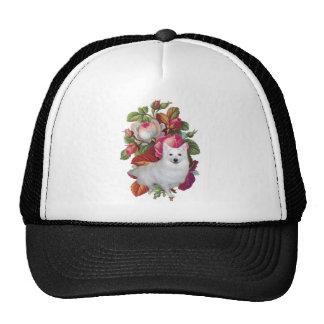 ESKIE-FLORAL MESH HAT