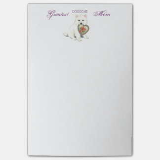 Eskie Heart Mom Post-it® Notes