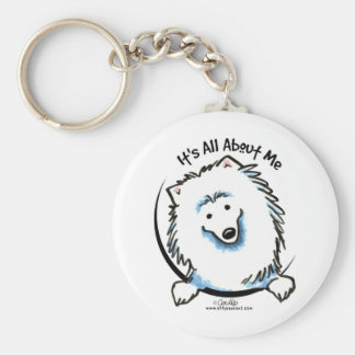 Eskie Its All About Me Key Ring