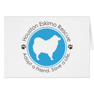 Eskie Logo Greeting Card