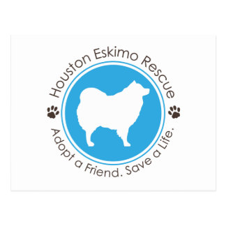 Eskie Logo Postcard