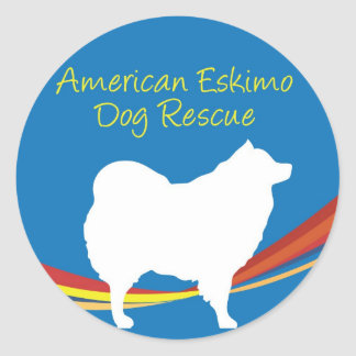 Eskie Rescue Sticker 2
