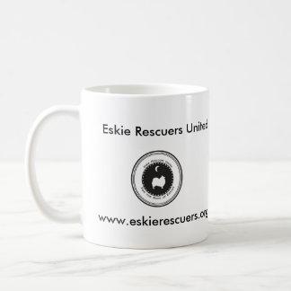 Eskie Rescuers United Basic White Mug