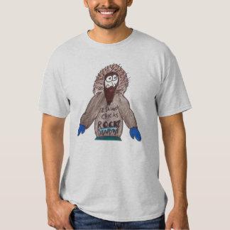 eskimo chick's rock! t shirts