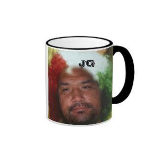 eskimo clown ringer mug