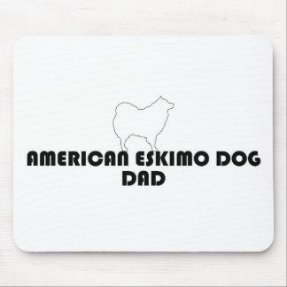 Eskimo Dad Mousepad white