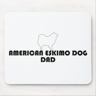 Eskimo Dad Mousepad white