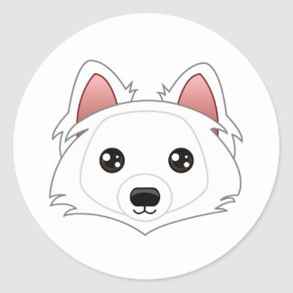 Eskimo Dog Stickers