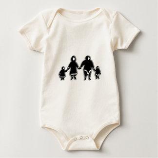 Eskimo Family Baby Bodysuit