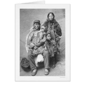 Eskimo Family Portrait 1921 Cards
