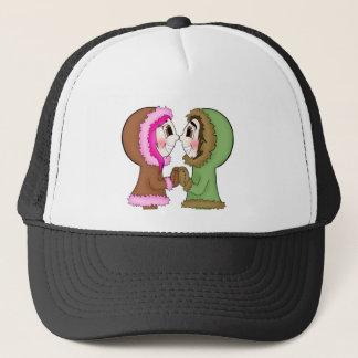 eskimo kisses trucker hat
