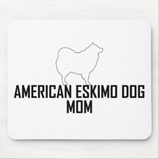 Eskimo Mom Mousepad White