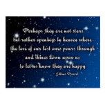 Eskimo proverb - stars postcards