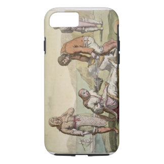 Eskimos, 1817 (colour engraving) iPhone 8/7 case
