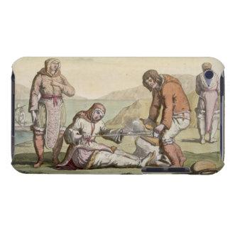 Eskimos, 1817 (colour engraving) iPod Case-Mate case