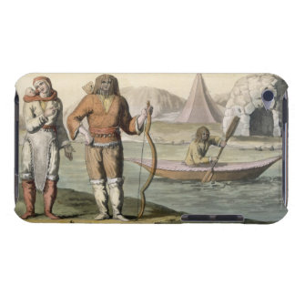 Eskimos at Hudson Bay, from 'Le Costume Ancien et iPod Touch Covers