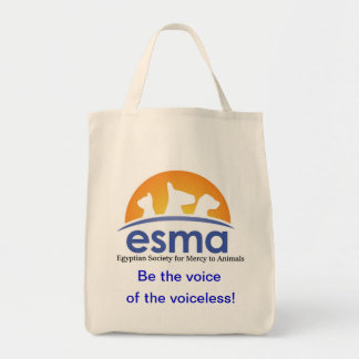 ESMA Organic Grocery Tote Grocery Tote Bag