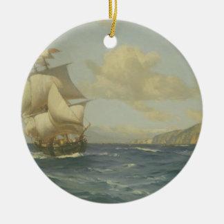 Esmeralda, 1908 (oil on canvas) christmas ornament