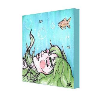 Esmerelda - Princess of the Sea Canvas Print