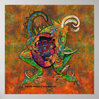 ESO Dragon Poster