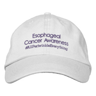 Esophageal Cancer Awareness Adjustable Hat Embroidered Baseball Caps