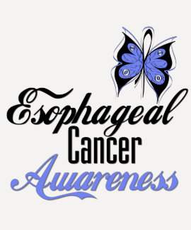 Esophageal Cancer Awareness Butterfly Shirts