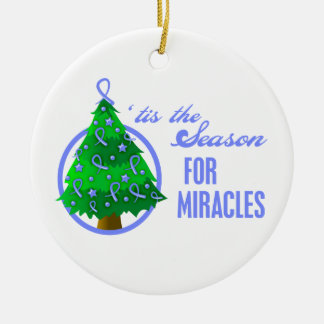Esophageal Cancer Christmas Miracles Christmas Ornament