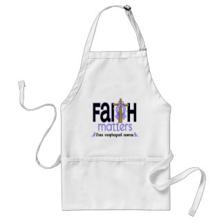 Esophageal Cancer Faith Matters Cross 1 Apron