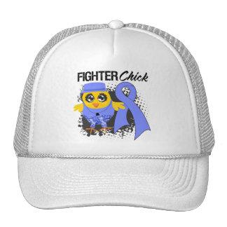 Esophageal Cancer Fighter Chick Grunge Trucker Hat
