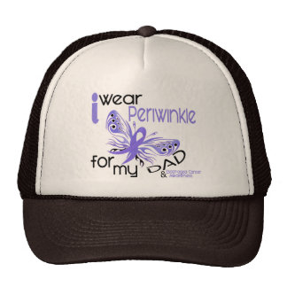 Esophageal Cancer I WEAR PERIWINKLE FOR MY DAD 45 Cap